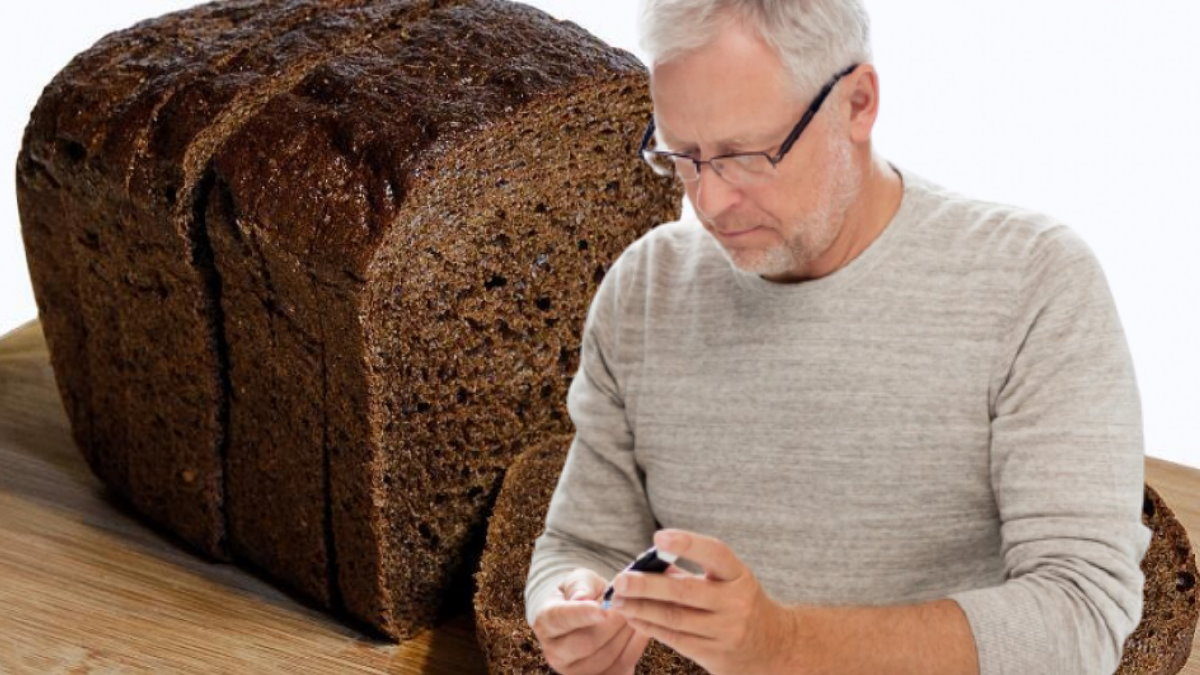 Ржаной чёрный хлеб и диабет