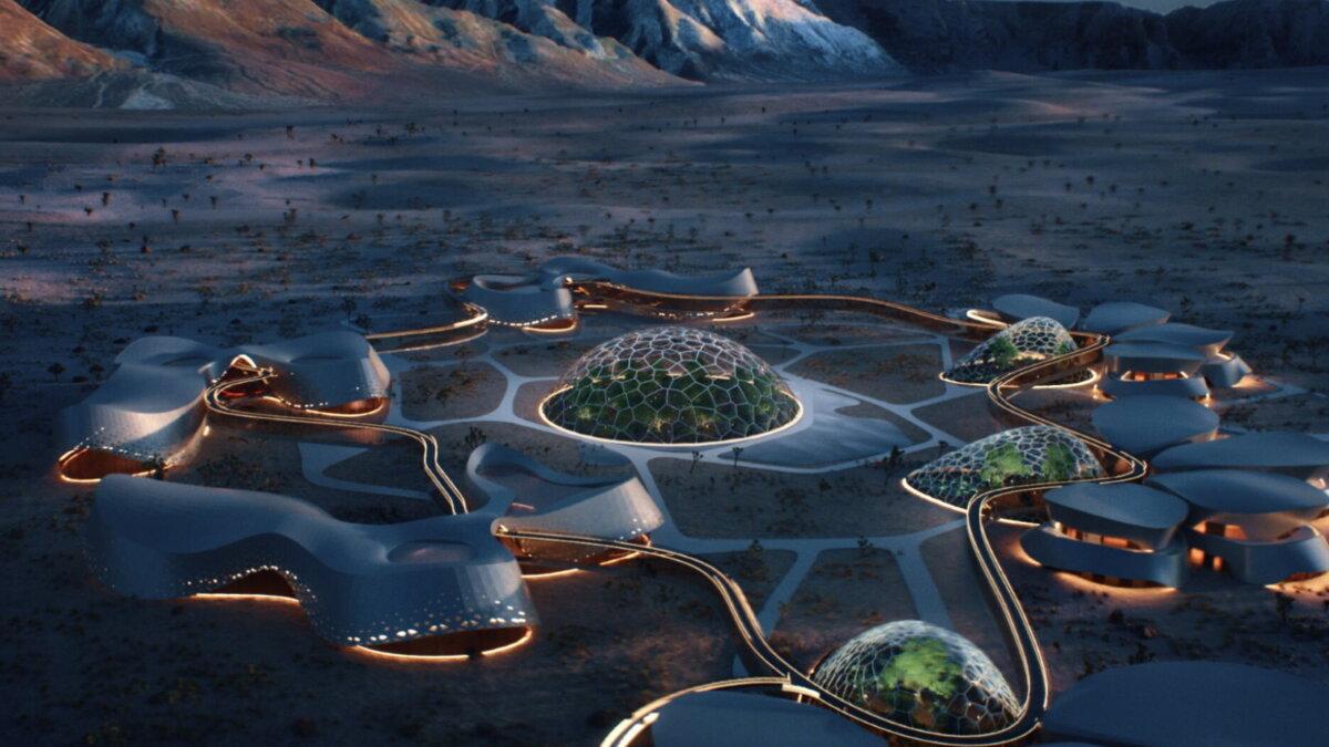 Interstellar Lab планирует построить марсианскую деревню в пустыне Мохаве