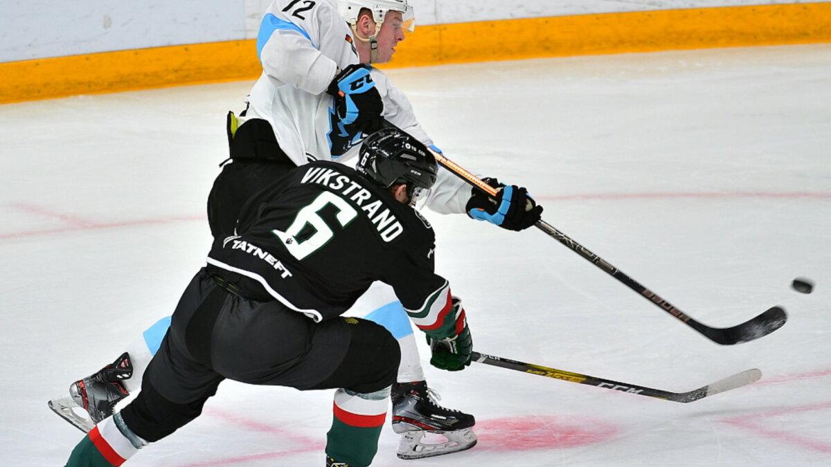 Ак Барс - минское Динамо хоккей