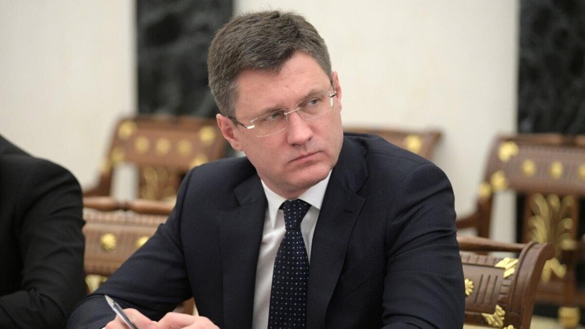 Министр энергетики РФ Александр Новак взгляд