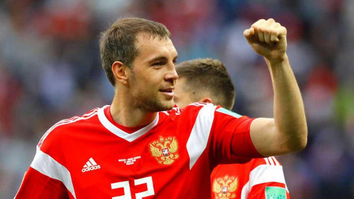Артем Дзюба сборная России футбол