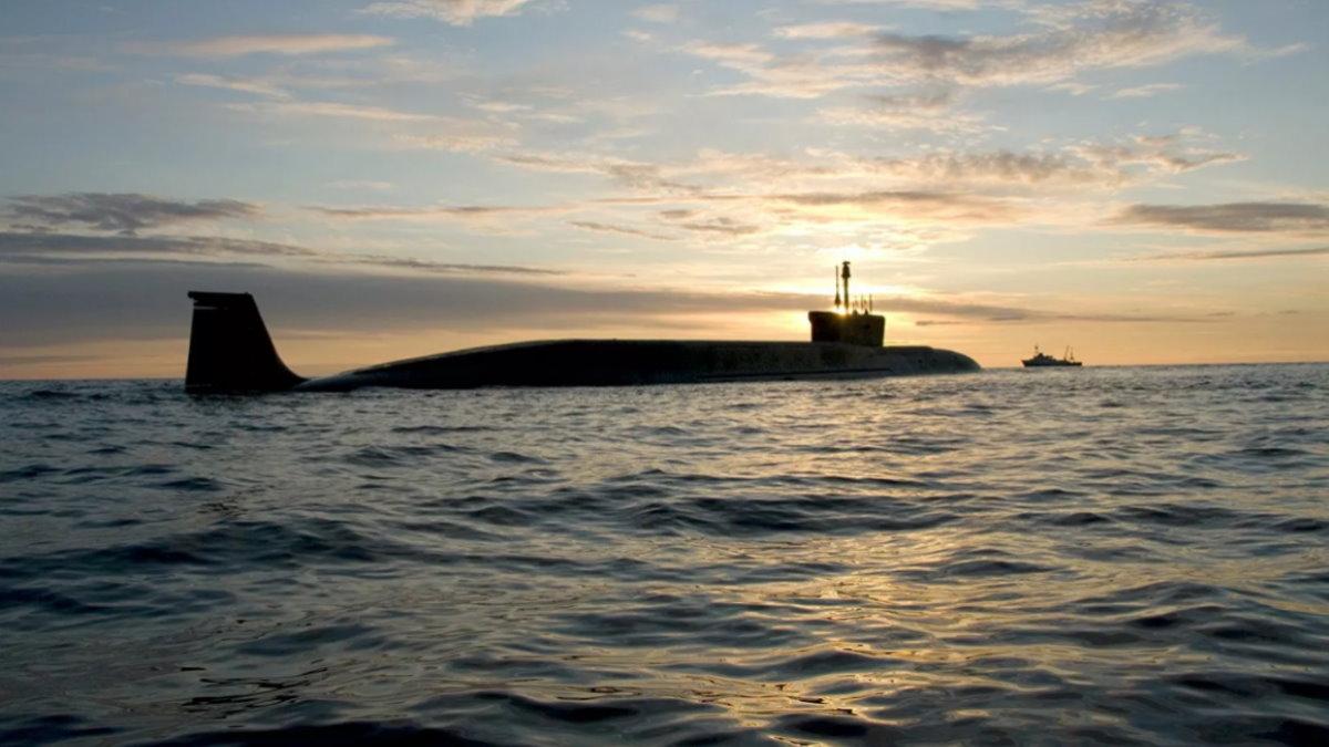 Атомная подводная лодка К-551 Владимир Мономах