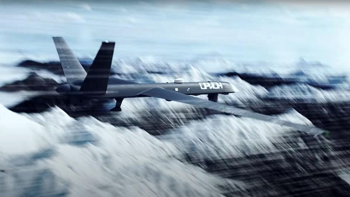 БПЛА Беспилотный аппарат большой продолжительности полета Орион