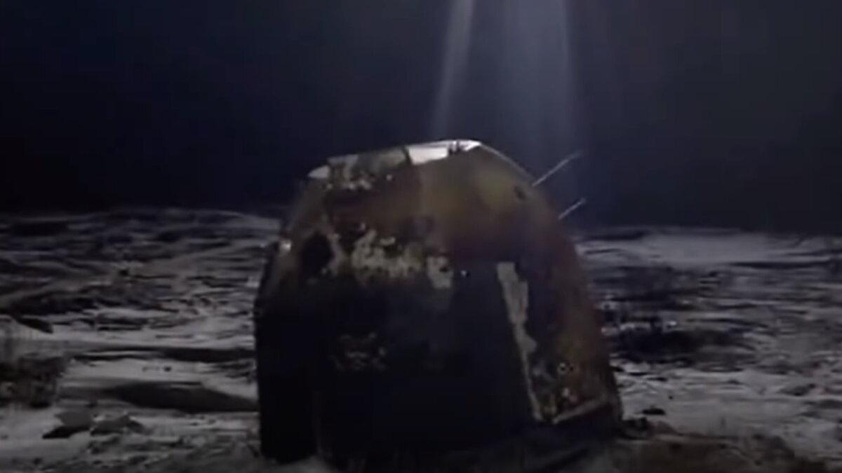 Китайская Посадочная капсула с Чанъэ-5 приземлилась