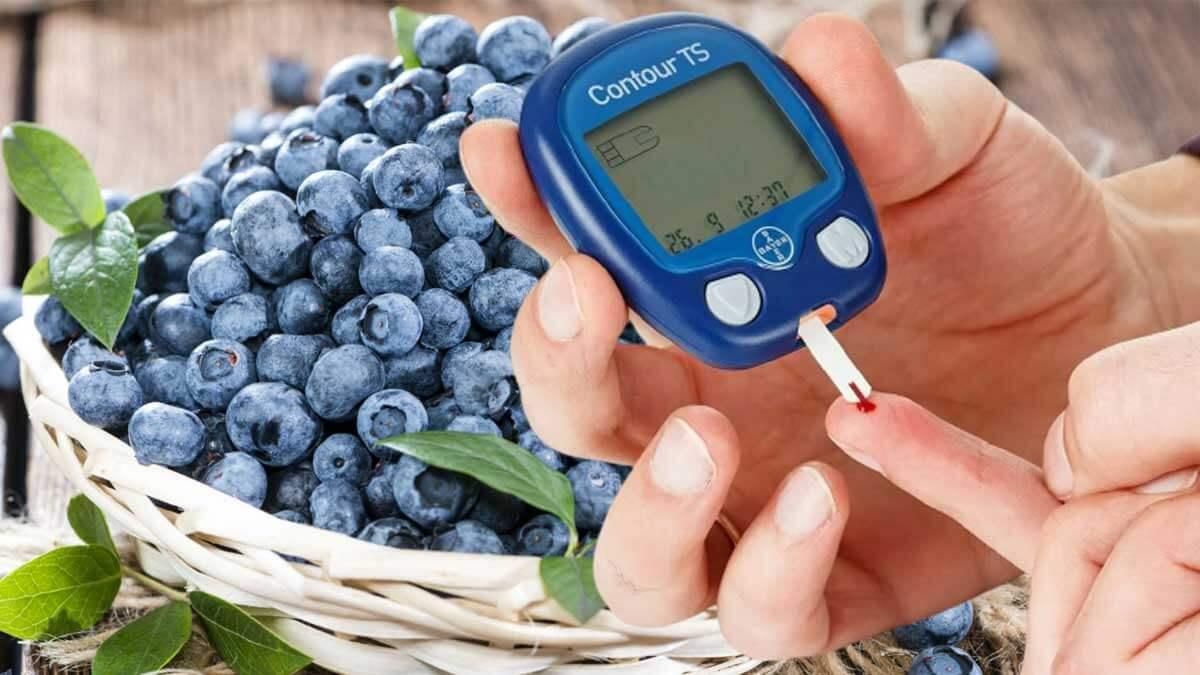 Черника лукошко здоровье blueberries диабет