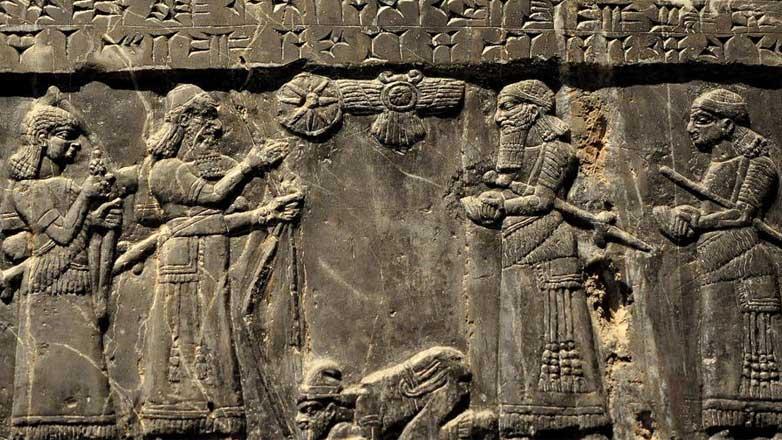 Черный обелиск Салманасара III