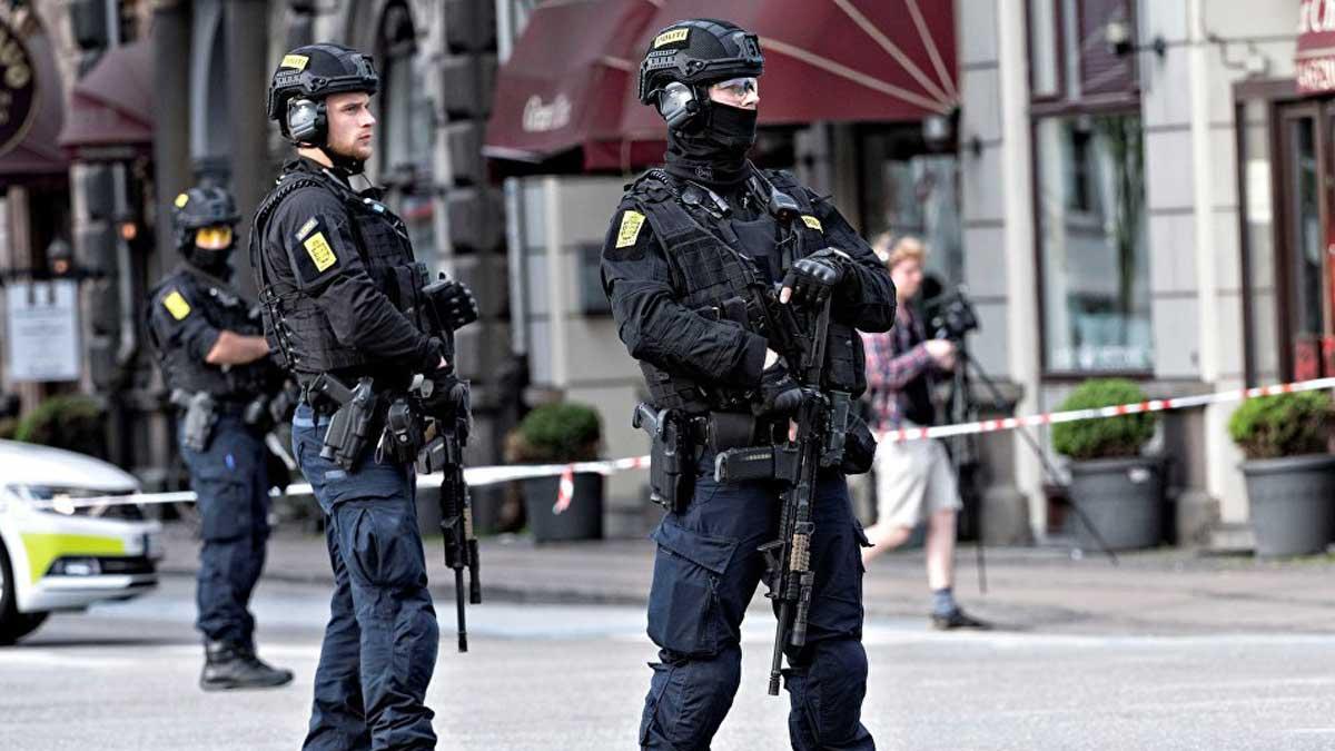 Датская полиция Denmark police