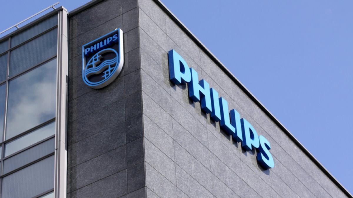 Philips логотип здание