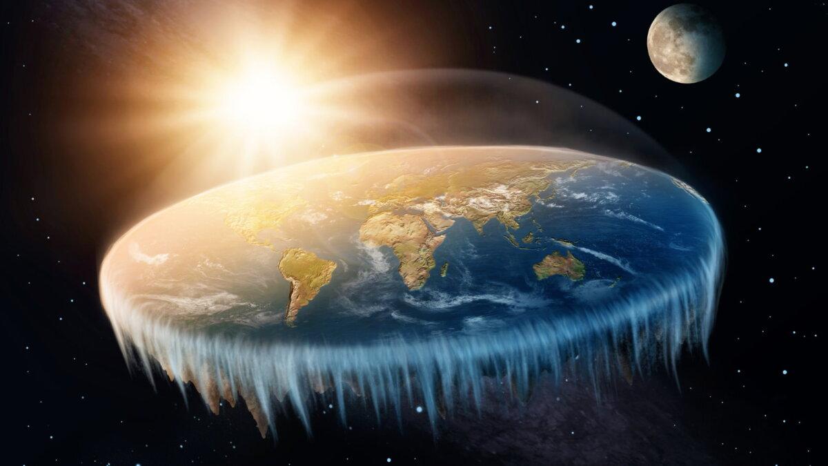 Плоская планета Земля мифы заблуждения