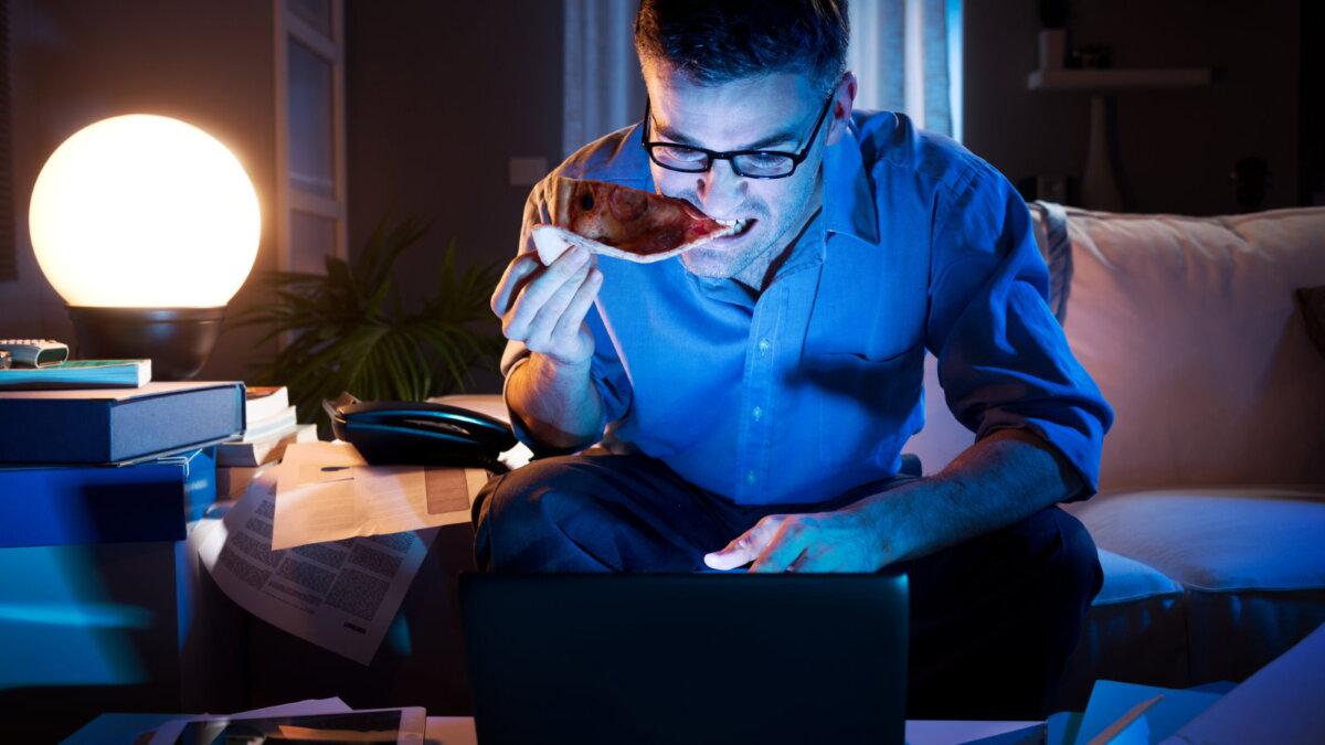 Работа на дому удалёнка ночью переработка перекус