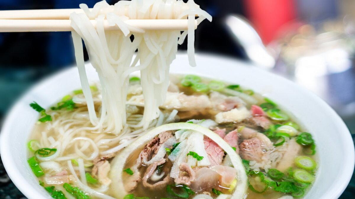 Вьетнамский суп Фо - Pho из говядины и лапши