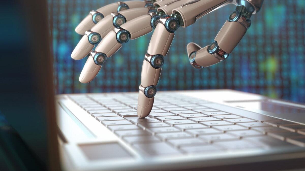 Искусственный интеллект робот генератор текста два