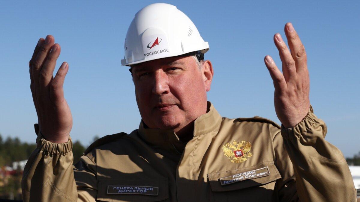 Дмитрий Рогозин на строительстве космодрома Восточный