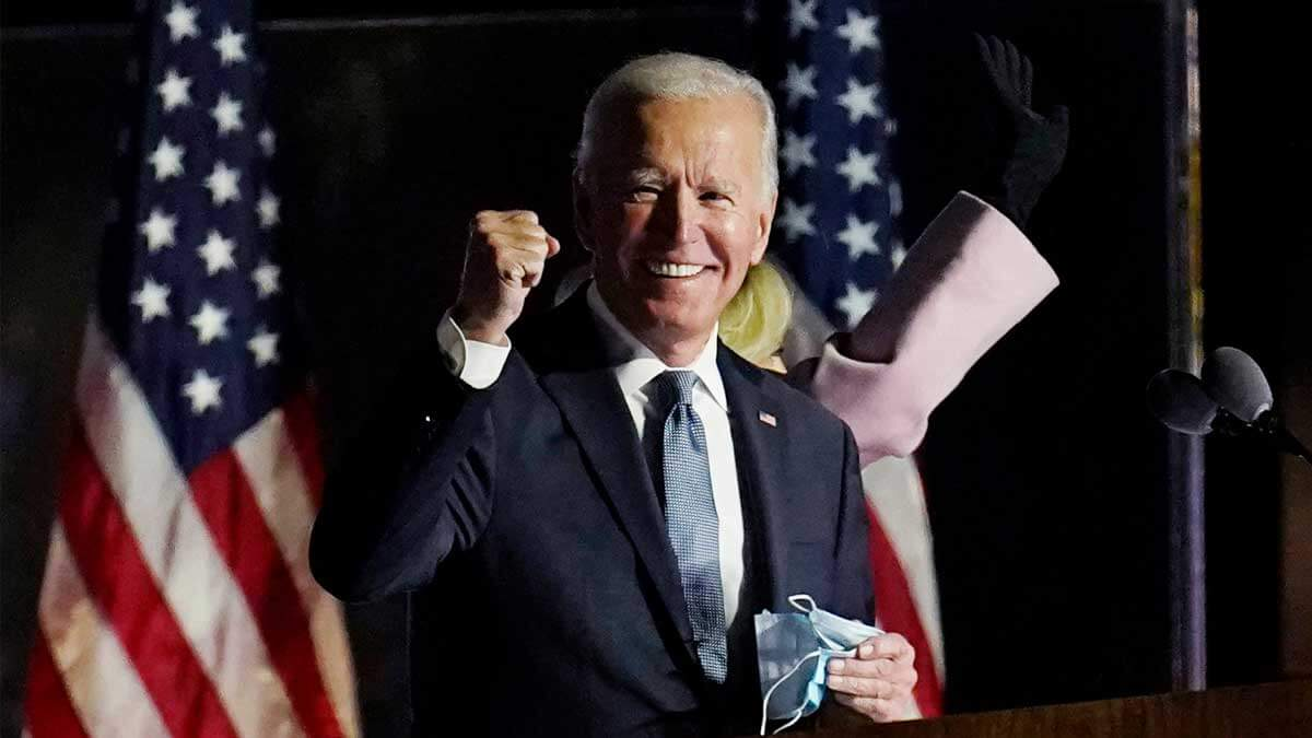 Джо Байден флаг сша Joe Biden