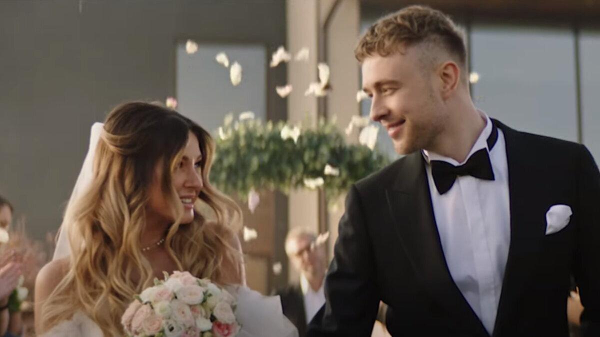 Кадр из клипа Егора Крида - Мистер и миссис Смит