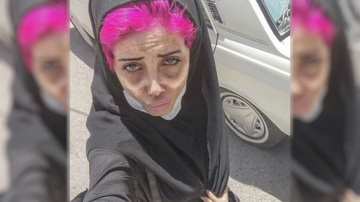 Иранская интернет-звезда Фатима Хишванд - Fatemeh Khishvand