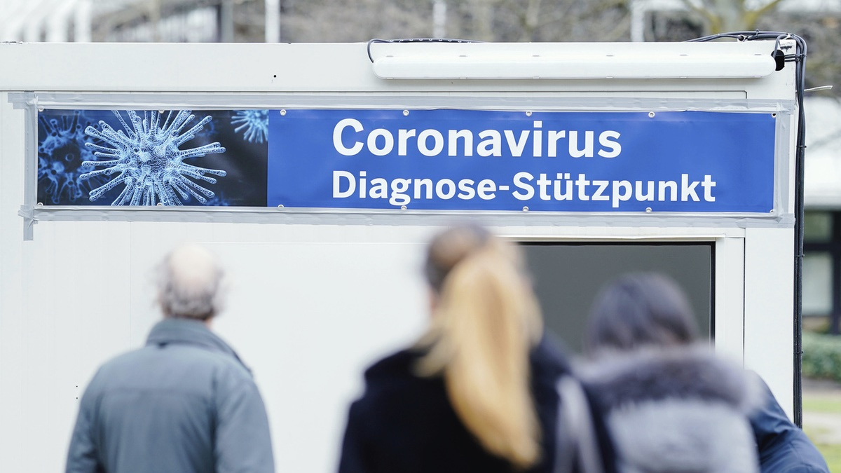 Германия проверка на коронавирус