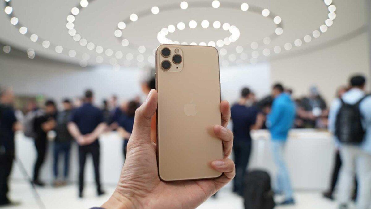 Iphone 11 Pro золотой