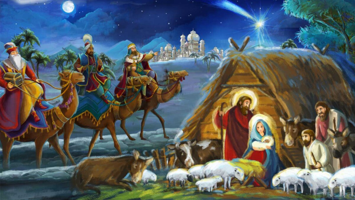 История рождения Иисуса Христа The story of the birth of Jesus Chris