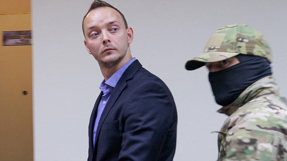 советник главы «Роскосмоса» Иван Сафронов в суде