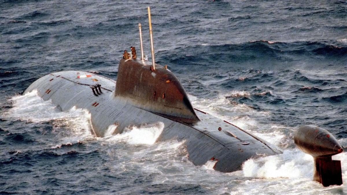 атомная подлодка К-322 Кашалот