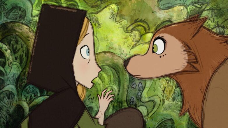 Кадр из мультфильма Легенда о волках