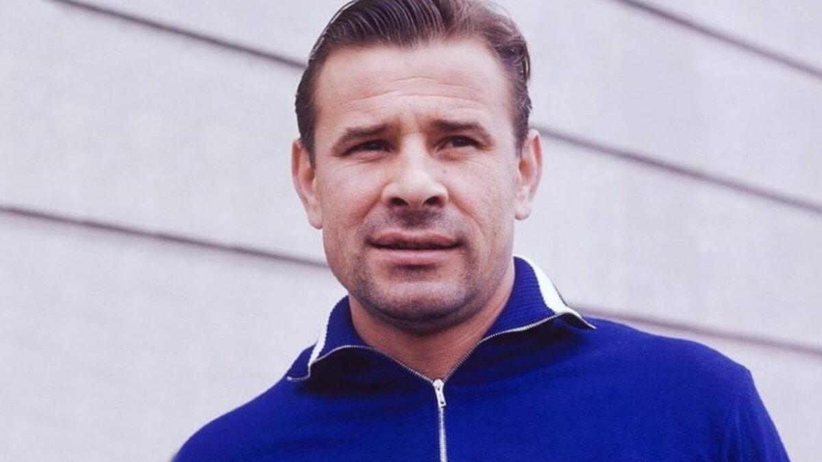 Футболист Лев Яшин