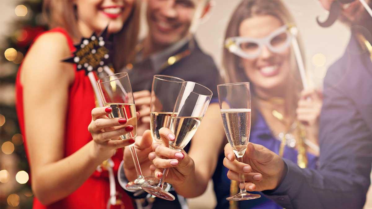 Люди новый год шампанское people champagne new year