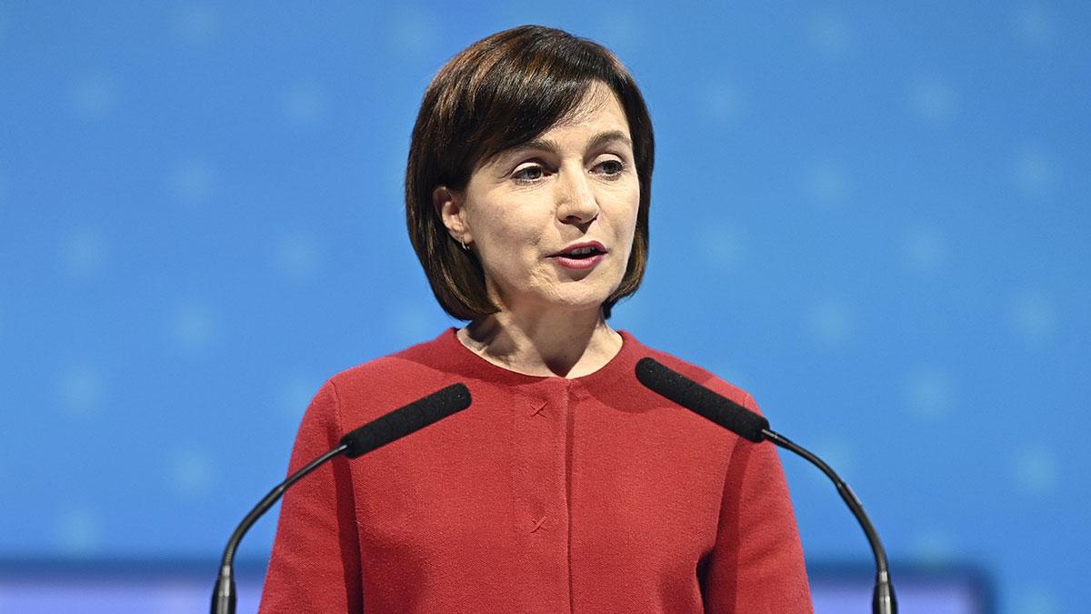 Майя Григорьевна Санду Избранный президент Республики Молдова