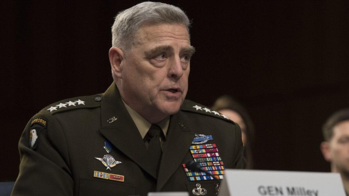 Американский генерал Марк Милли - Mark Milley два