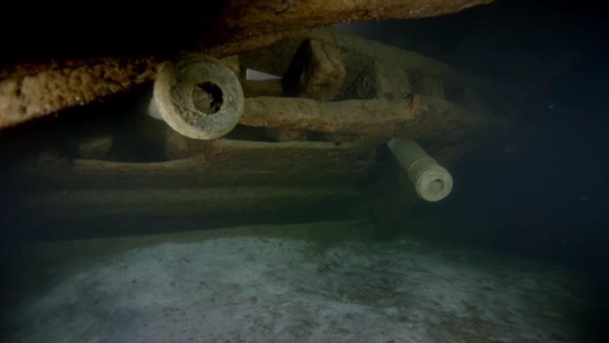 Затонувший в 1564 году шведский корабль Марс