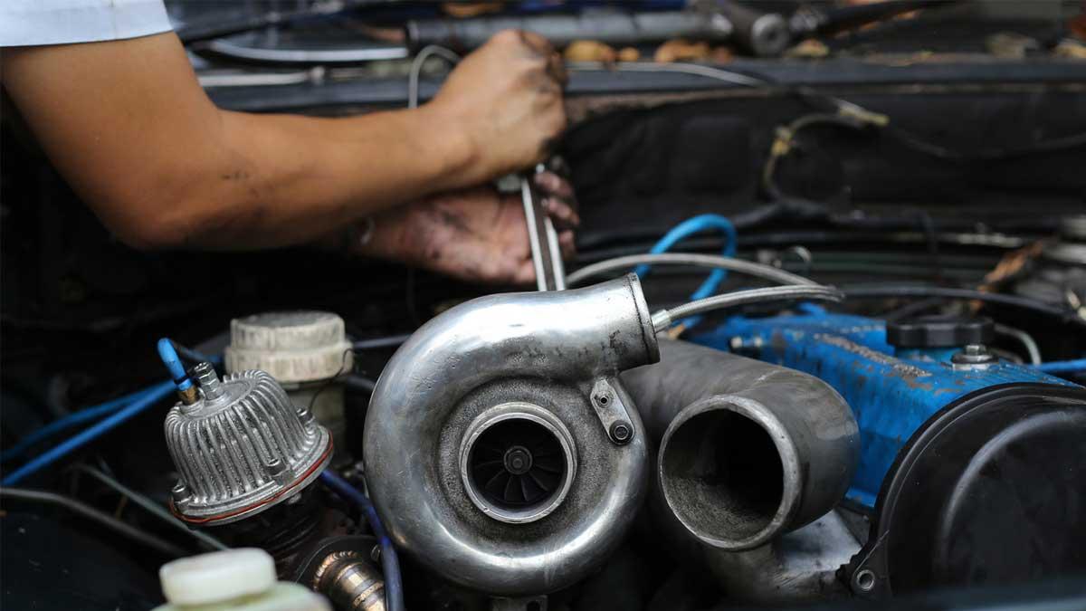 Мастерская ремонт турбированного двигателя turbocharged engine