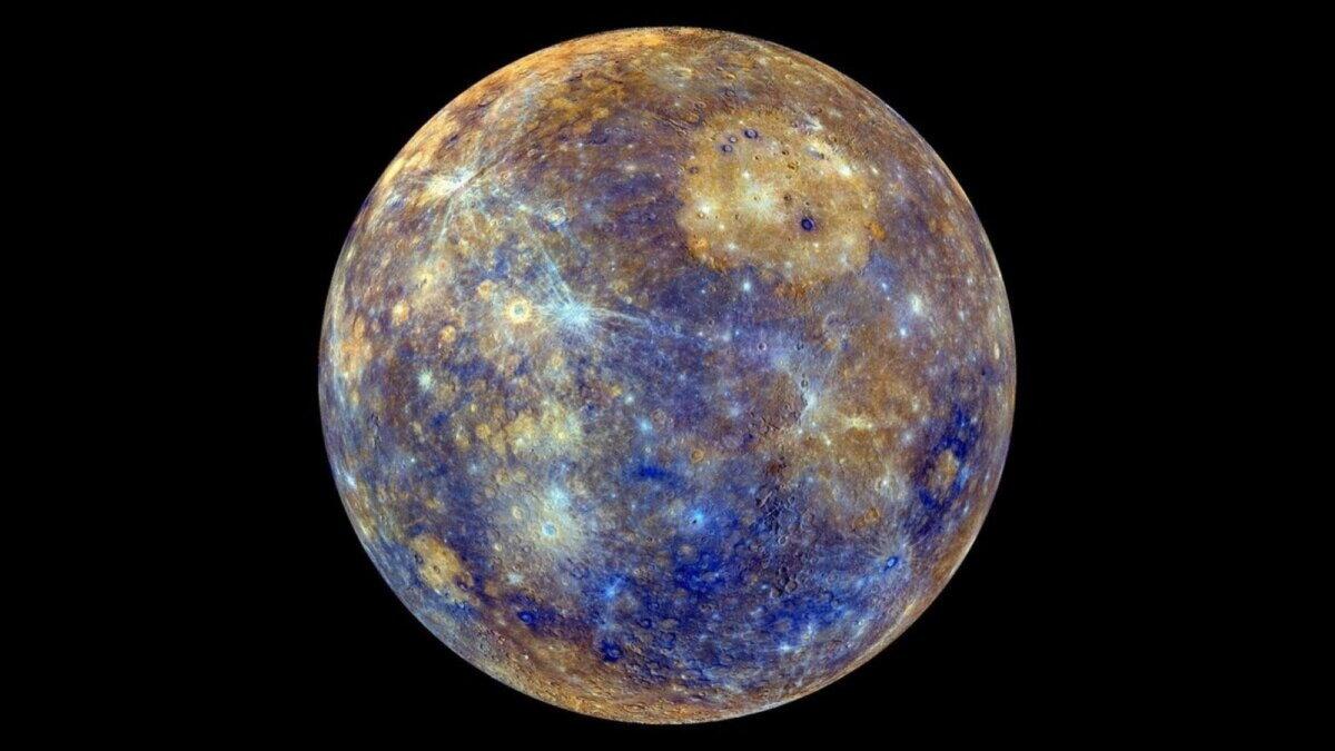 На Меркурии образовался лёд