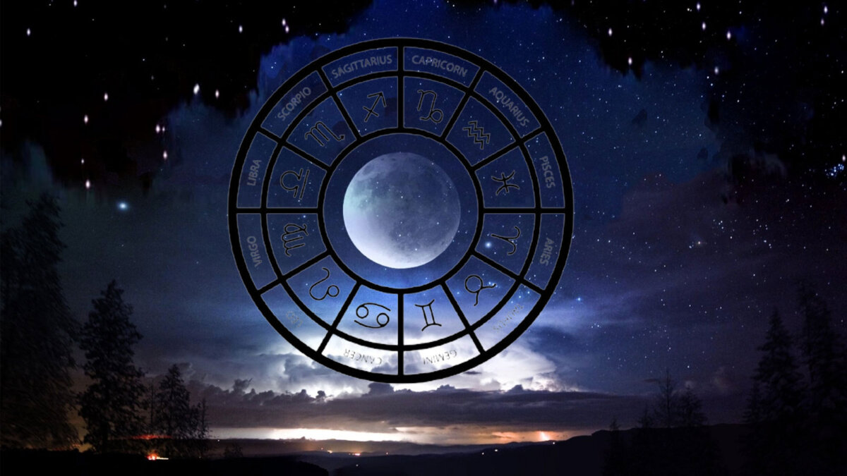 Moon луна знаки зодиака ночь