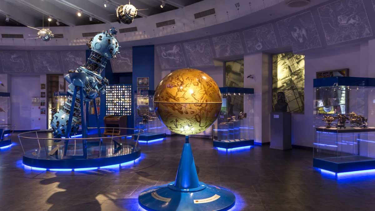 Московский планетарий глобус Moscow planetarium