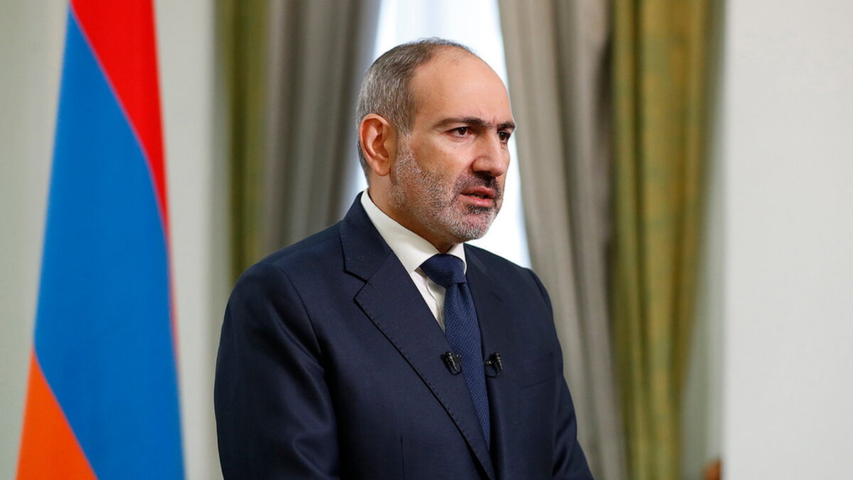 Премьер-министр Армении Никол Пашинян пять