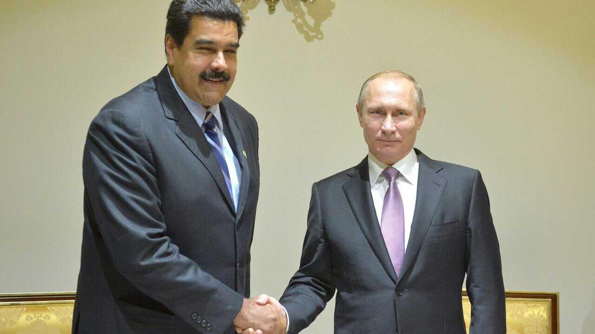 Николас Мадуро и Владимир Путин Nicolas Maduro and Vladimir Putin