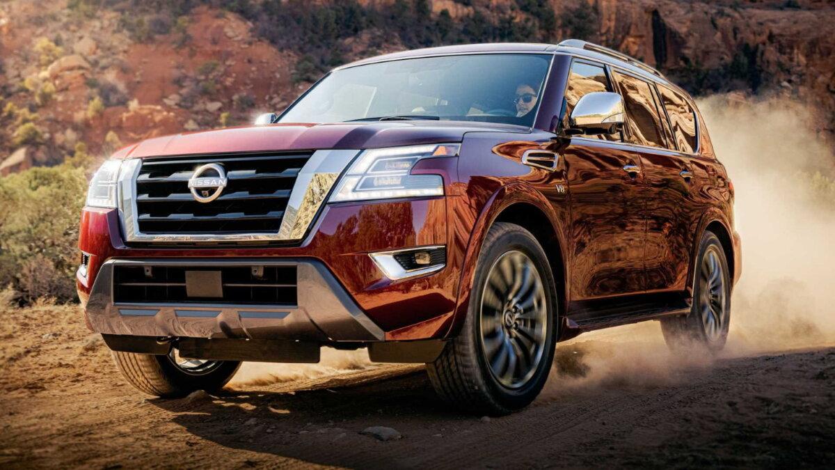 Обновлённый Nissan Armada
