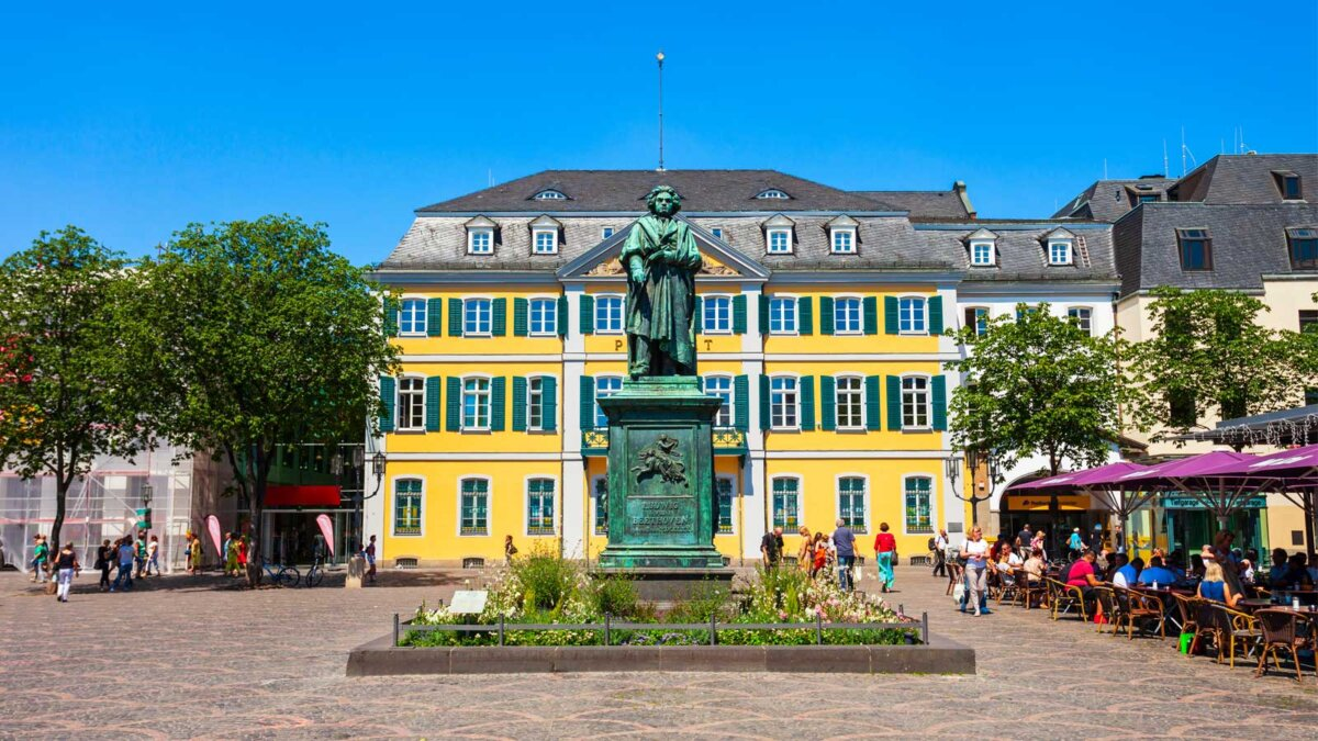 Памятник Бетховен Ludwig van Beethoven monument