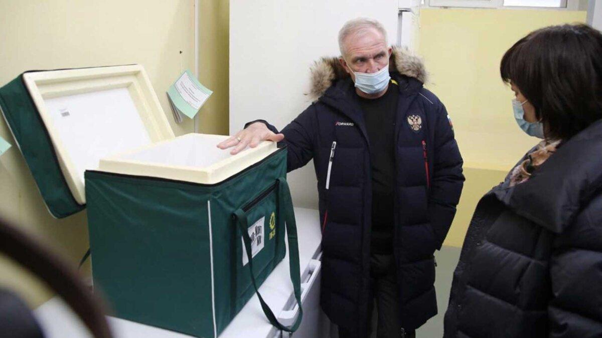 Первая поставка вакцин от ковид в Ульяновск