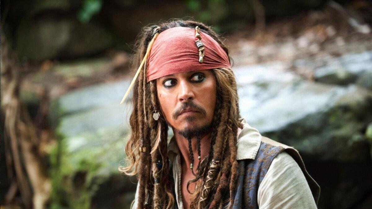 Кадр из фильма Пираты Карибского моря На странных берегах Джонни Депп