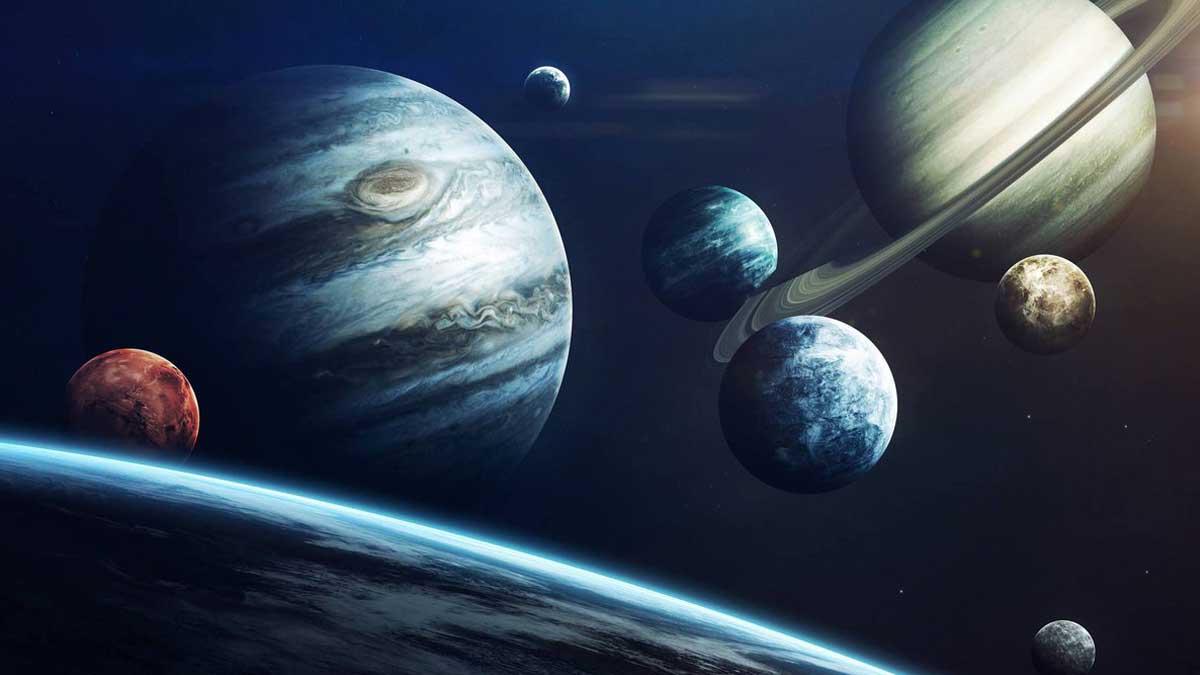 Планеты солнечной системы solar system