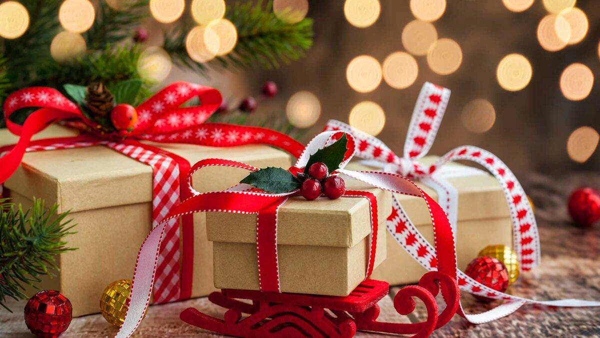 Подарки елка новый год