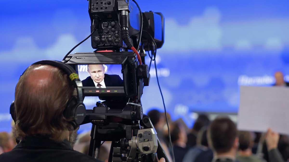 Пресс-конференция Владимира Путина Putin press conferences