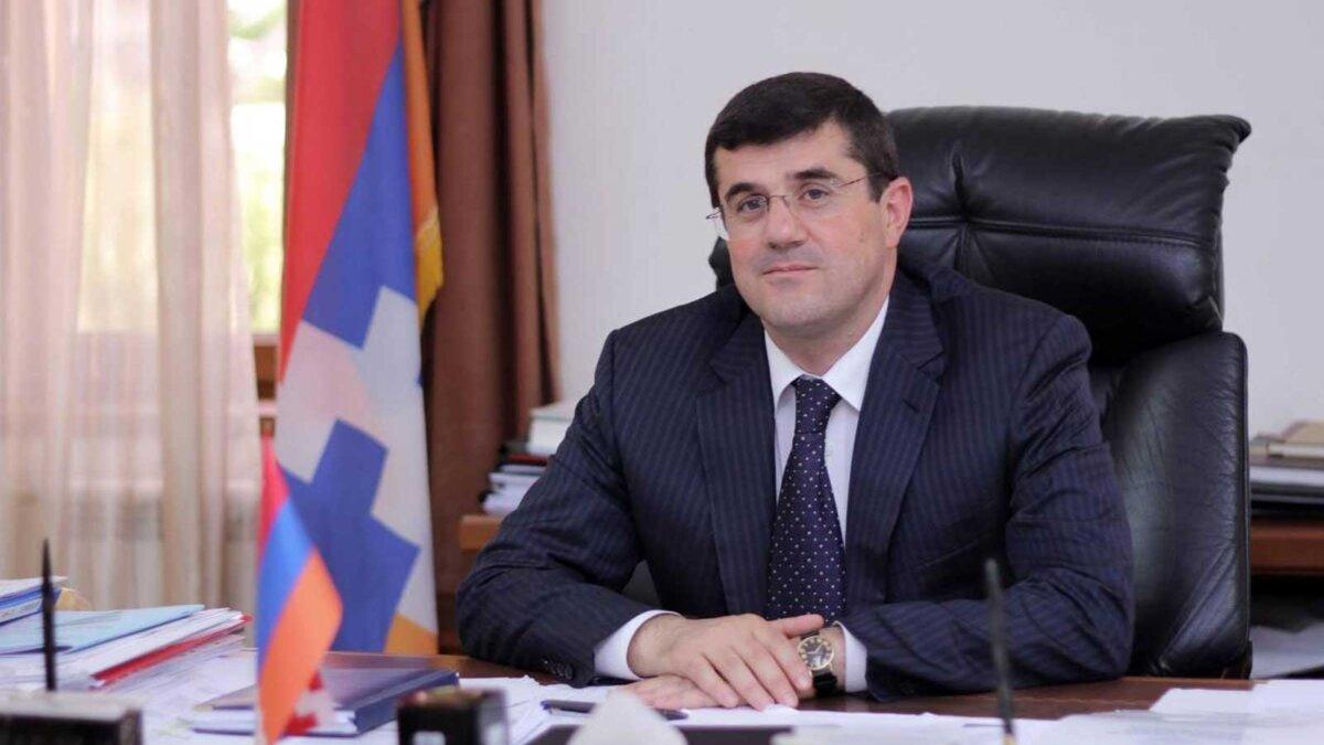 Президент Арцаха Араик Арутюнян