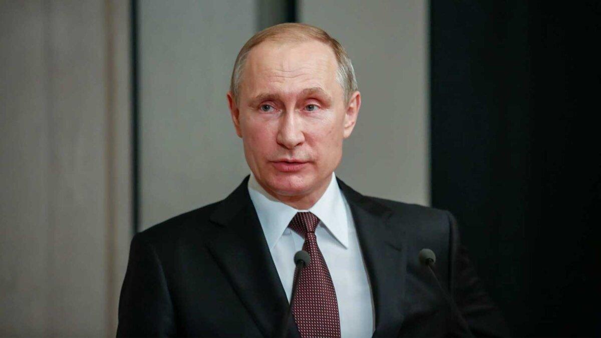 Президент России Владимир Путин говорит