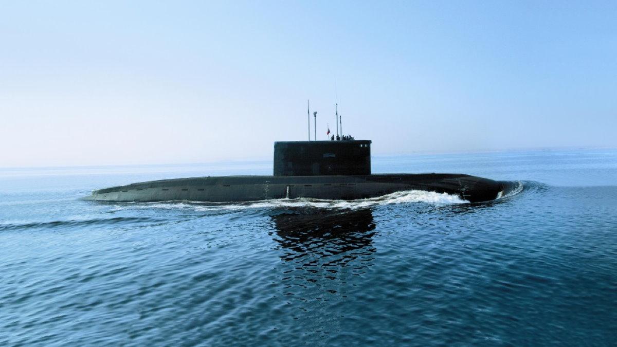 Российская подводная лодка проекта 636
