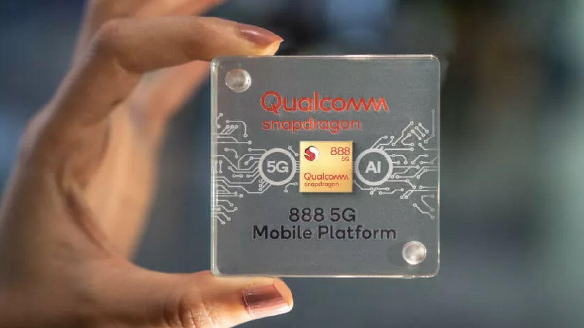 Процессор Qualcomm Snapdragon 888 для смартфонов