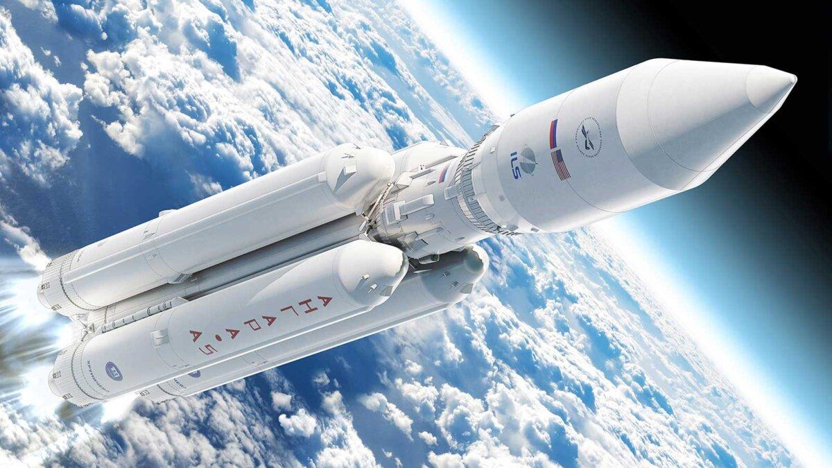 Ракета Ангара the rocket Angara два