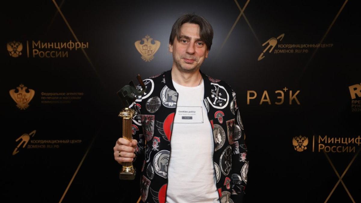 Генеральный продюсер Нового Радио Роман Емельянов Премия Рунета за коллаборацию с TikTok